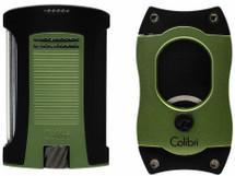Colibri Daytona + S Cut Gift Set - Green