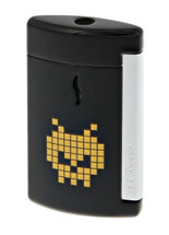 S.T Dupont MiniJet Lighter - Space Alien Black