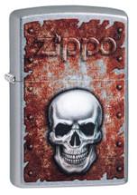 Zippo - Rusted Skull
