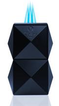 Colibri Quasar Tabletop Triple Flame lighter - Navy
