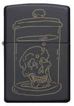Zippo  - Skull Design Matte Black