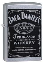 Zippo - Jack Daniel's Label
