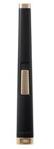 Colibri Aura Flat Flame lighter - Black & Rose