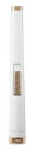 Colibri Aura Flat Flame lighter - White & Rose