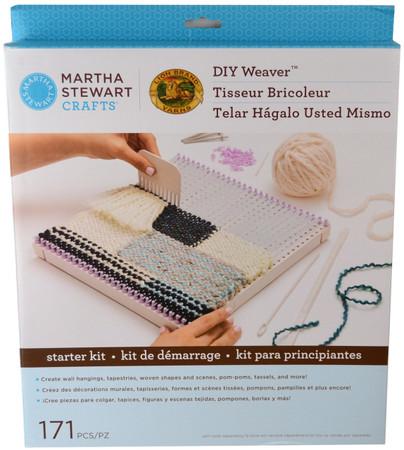 Martha Stewart Crafts DIY Weaver Starter Kit