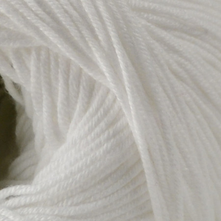 Premier Yarn White Cotton Fair Yarn (2 - Fine)