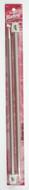 "Susan Bates Silvalume 2-Pack 14"" Single Point Knitting Needles (Size US 15 - 10 mm)"
