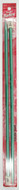"Susan Bates Silvalume 2-Pack 14"" Single Point Knitting Needles (Size US 10.5 - 6.5 mm)"