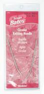 "Susan Bates Silvalume 16"" Circular Knitting Needle (Size US 1 - 2.25 mm)"