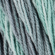 Red Heart Fresh Mint Super Saver Ombre Yarn (4 - Medium)