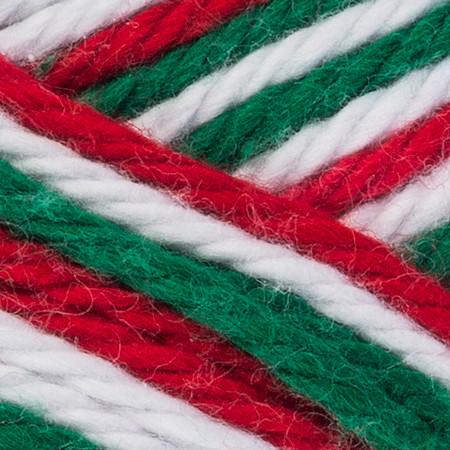 Red Heart Christmas Scrubby Smoothie Yarn (4 - Medium)