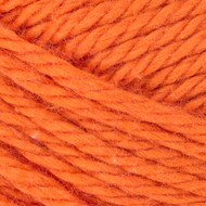 Red Heart Brite Orange Scrubby Smoothie Yarn (4 - Medium)