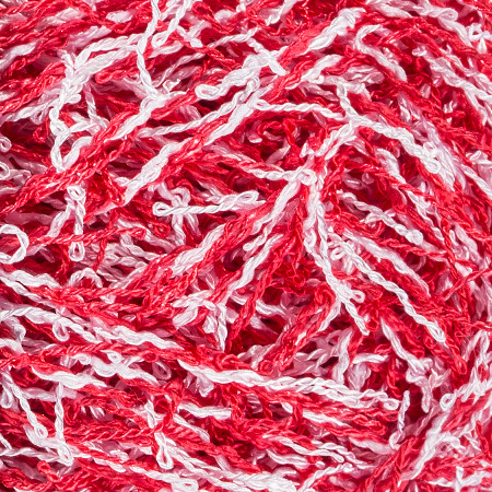 Red Heart Candy Cane Scrubby Yarn (4 - Medium)