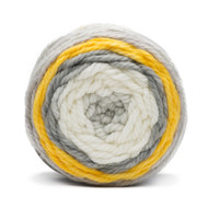 Bernat Zesty Gray Pop Bulky Yarn (6 - Super Bulky)
