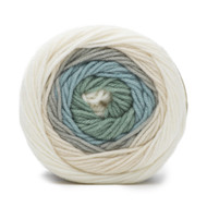 Bernat Winter Sky Super Value Big Stripes Yarn (4 - Medium)