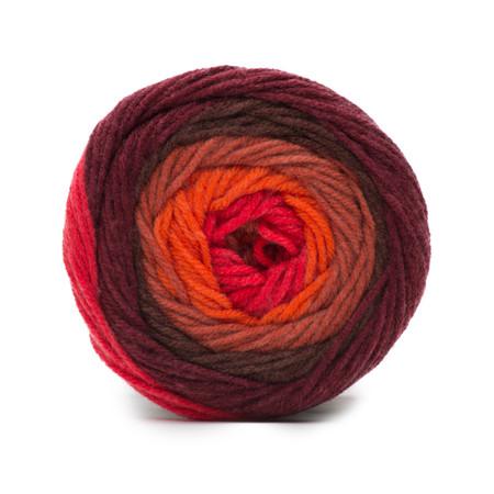 Bernat Terra Cotta Super Value Big Stripes Yarn (4 - Medium)
