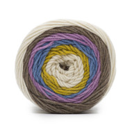 Bernat Chambray Super Value Big Stripes Yarn (4 - Medium)