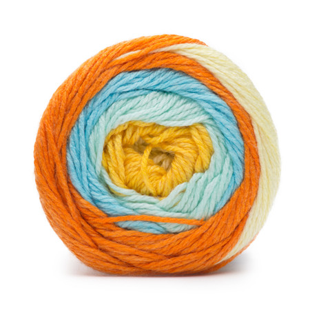 Bernat Sunny Side Up Stripe Softee Baby Stripes Yarn (3 - Light)