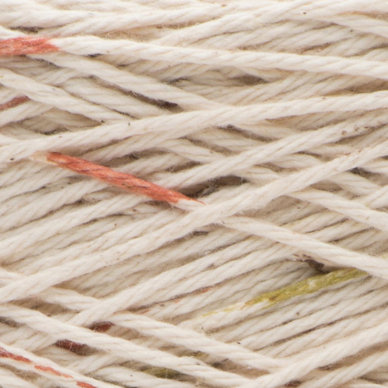 2.5 oz Medium Gauge 100/% Cotton Lily Sugar N Cream  The Original Solid Yarn - Machine Wash /& Dry Ecru 4