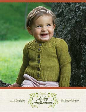 Baby Botanicals Pattern Book by Alana Dakos