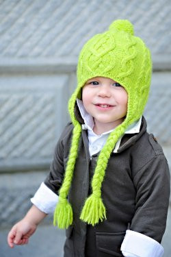 Tot Toppers Patterns Sweet 'n Sour Apple Hat