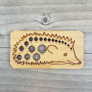 Katrinkles Hedgehog Knitting Needle Gauge