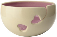 Purple Ceramic Yarn Bowl by Madeleine Coomey