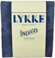 "LYKKE Indigo 10-Pack 6"" Crochet Hook Set"