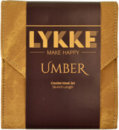 "LYKKE Umber 10-Pack 6"" Crochet Hook Set"