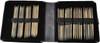 """LYKKE Driftwood 40-Pack 6"""" Double Pointed Knitting Needles Large Set (Sizes US 6 - US 13) - Grey Denim"""