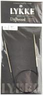 "LYKKE Driftwood 16"" Circular Knitting Needle (Size US 1 - 2.25 mm)"