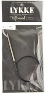 "LYKKE Driftwood 16"" Circular Knitting Needle (Size US 2.5 - 3 mm)"