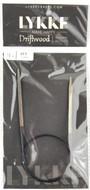 "LYKKE Driftwood 16"" Circular Knitting Needle (Size US 5 - 3.75 mm)"