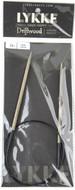 "LYKKE Driftwood 24"" Circular Knitting Needle (Size US 6 - 4 mm)"