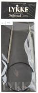 "LYKKE Driftwood 24"" Circular Knitting Needle (Size US 8 - 5 mm)"