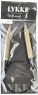 "LYKKE Driftwood 24"" Circular Knitting Needle (Size US 17 - 12 mm)"