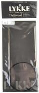 "LYKKE Driftwood 32"" Circular Knitting Needle (Size US 0 - 2 mm)"
