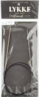 "LYKKE Driftwood 32"" Circular Knitting Needle (Size US 1.5 - 2.5 mm)"