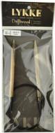 "LYKKE Driftwood 32"" Circular Knitting Needle (Size US 10.75 - 7 mm)"