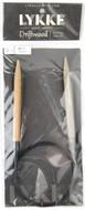 "LYKKE Driftwood 32"" Circular Knitting Needle (Size US 11 - 8 mm)"