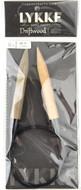 "LYKKE Driftwood 32"" Circular Knitting Needle (Size US 17 - 12 mm)"