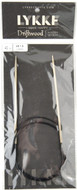 "LYKKE Driftwood 40"" Circular Knitting Needle (Size US 1.5 - 2.5 mm)"