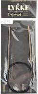 "LYKKE Driftwood 40"" Circular Knitting Needle (Size US 3 - 3.25 mm)"
