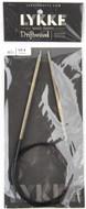 "LYKKE Driftwood 40"" Circular Knitting Needle (Size US 4 - 3.5 mm)"