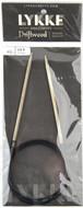 "LYKKE Driftwood 40"" Circular Knitting Needle (Size US 5 - 3.75 mm)"
