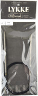 "LYKKE Driftwood 40"" Circular Knitting Needle (Size US 6 - 4 mm)"