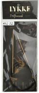 "Driftwood 47"" Circular Knitting Needle (Size US 0 - 2 mm) by LYKKE"