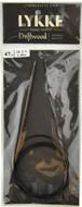 "Driftwood 47"" Circular Knitting Needle (Size US 2.5 - 3 mm) by LYKKE"