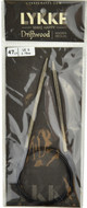 "Driftwood 47"" Circular Knitting Needle (Size US 5 - 3.75 mm) by LYKKE"