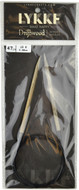 "Driftwood 47"" Circular Knitting Needle (Size US 8 - 5 mm) by LYKKE"